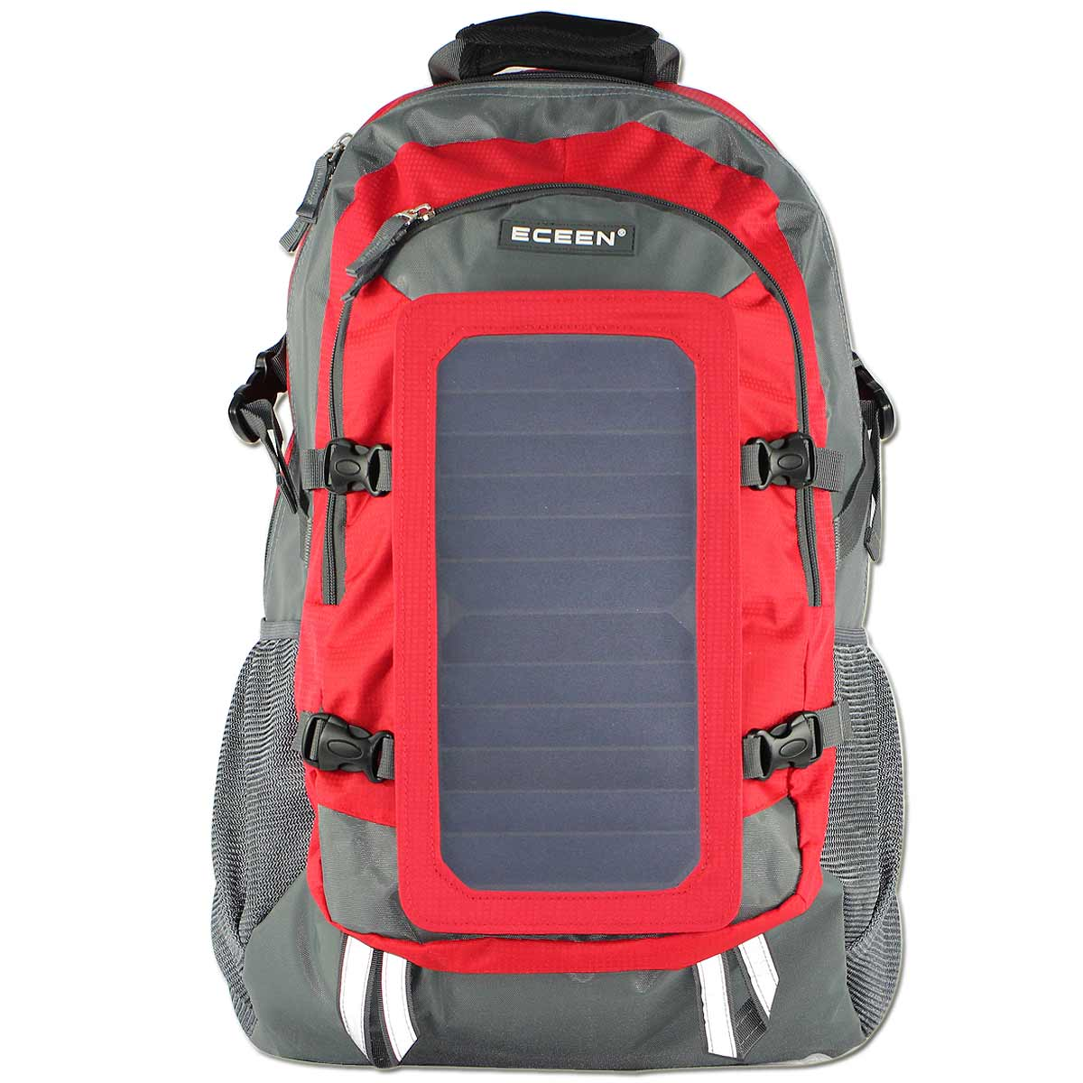 Eceen Solar Backpack Solar Charger Bag With 7 Watts Solar