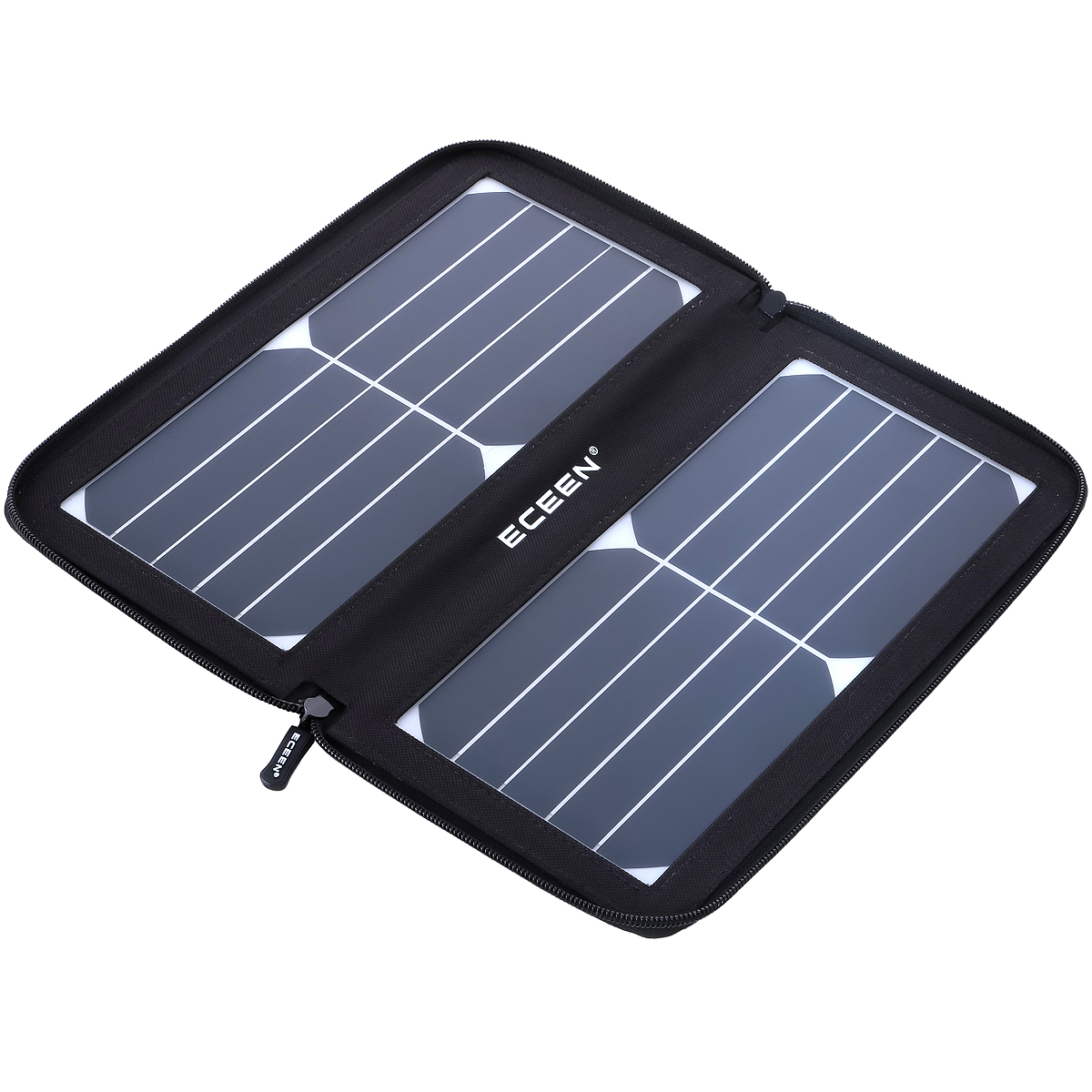 Eceen 10watts Zip Pack Solar Panels Charger Ece 647blacksolar Battery Charging Loading Zoom